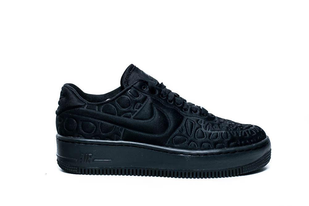 22a36ac37e Nike Air Force 1 Upstep Se Women's Running Training Shoes Black 844877 002