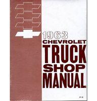 1963 Chevy Truck Shop Manual