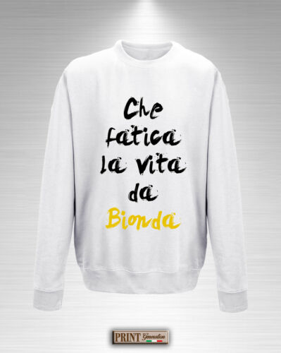 de From Girlfriend Che regalo La Amica Sudadera Blonde Life Fatica Funny Idea WUqwPf6