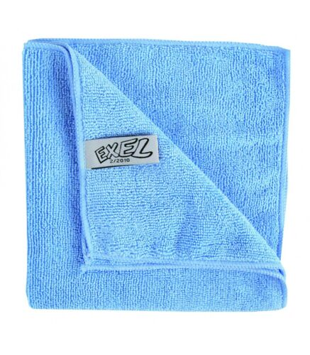 Pack of 20 Towel Blue Microfibre Cloth Cleaning Cloths Next Day Delivery