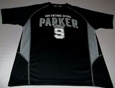 Tony Parker San Antonio Spurs Jersey Shirt Youth Large 14-16 Black NBA