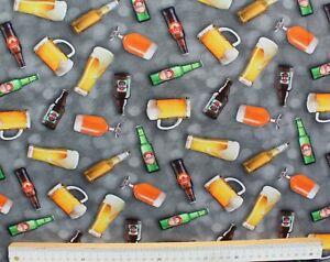Baumwolle-Jersey-Stoff-Digitaldruck-Quality-Textiles-Bier-Grau-150-cm