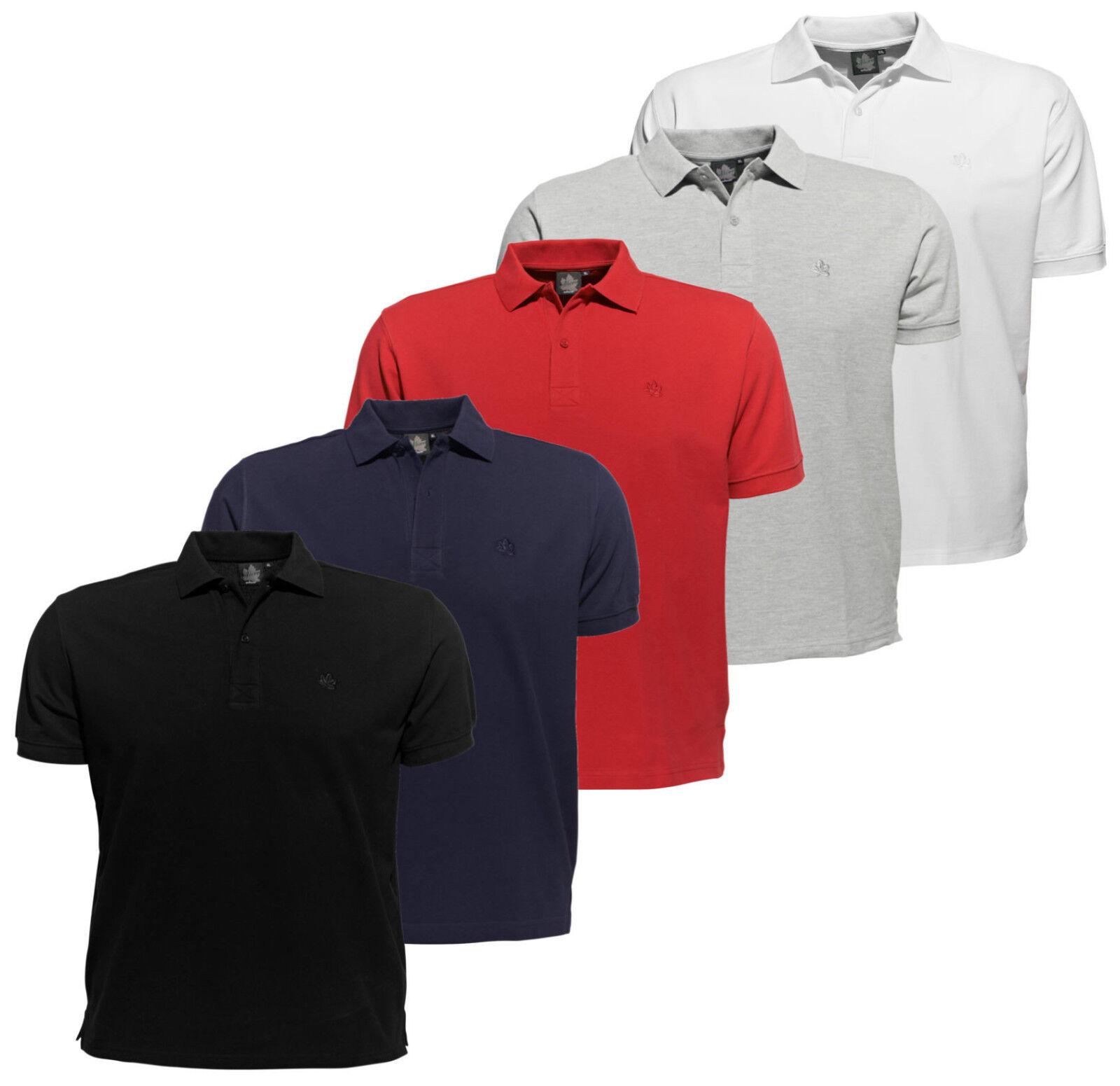 AHORN Polo Shirt XL-54 56 BIS 10XL-82 84 Übergröße T-Shirt Polo-Shirt  Kurzarm