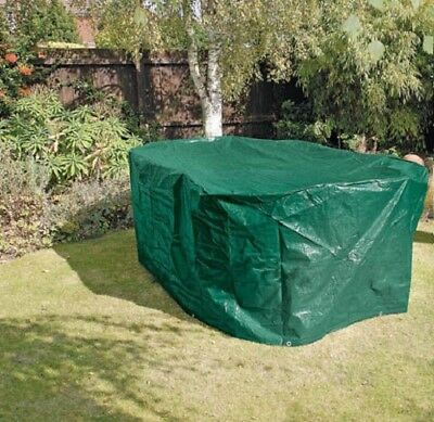 Oval Protect Patio Garden Furniture Cover Waterproof Large Table Chairs Set 2.1m