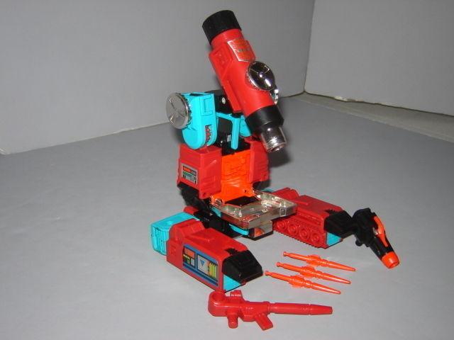 G1 Transformer AUTOBOT Perceptor complet Prof  nettoyé lot nº 4