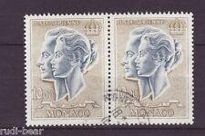 Monaco Nr.   878  gest.   Fürstenpaar Rainier III und Gracia Patricia         -3