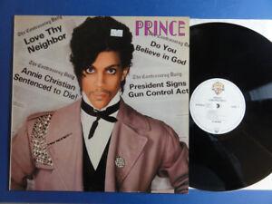 Prince-Controversy-Warner-Bros-81-German-ORIG-LP-Nr-Comme-neuf-SUPERBE