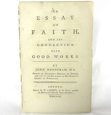 English Is My Second Language Essay John Rotheram Essay On Faith And Its Connection With Good Works First Terrorism Essay In English also Business Essay Structure John Rotheram Essay On Faith And Its Connection With Good Works  Abortion Essay Thesis