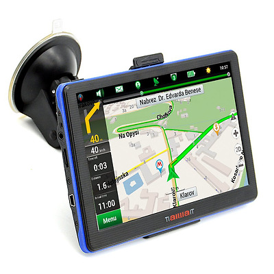 Portable Car GPS Navigation System Units 7-Inch Capacitive 8GB Windows CE, Y417