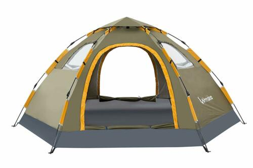 Wnnideo instantanée famille tente automatique Pop Up Tentes pour sports de plein air camping...