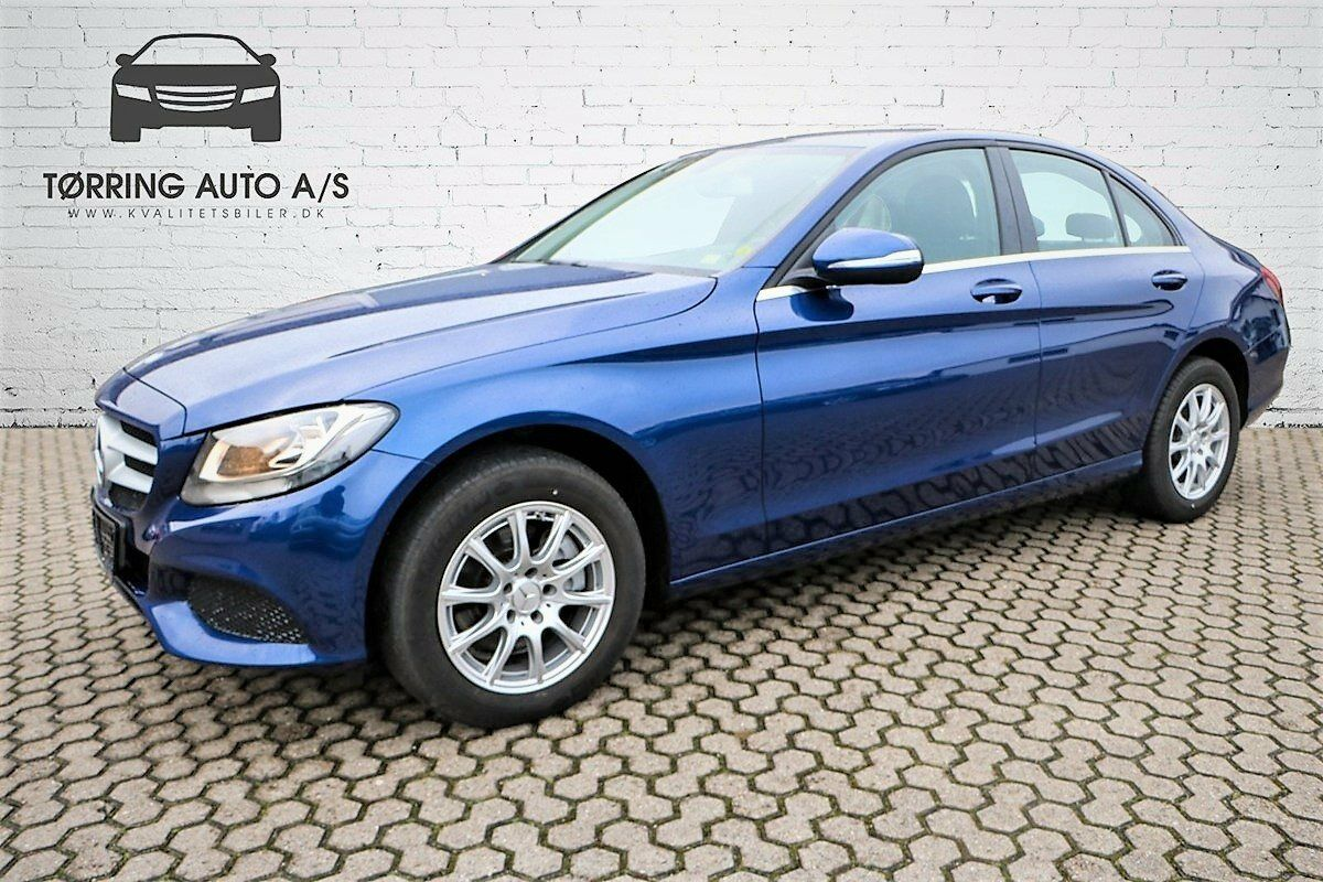 Mercedes C200 2,0  4d - 279.900 kr.