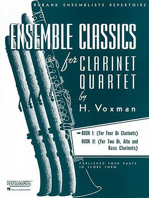Musical Instruments & Gear Ensemble Classics For Clarinet Quartet Book 1 For Four Bb Clarinets En 004475327 To Reduce Body Weight And Prolong Life