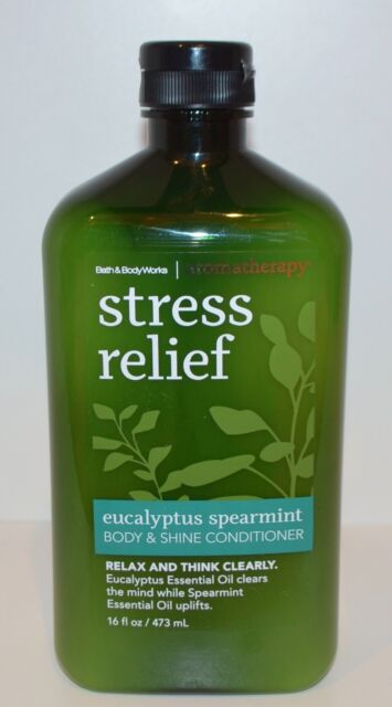1 BATH & BODY WORKS AROMATHERAPY STRESS RELIEF EUCALYPTUS SPEARMINT CONDITIONER