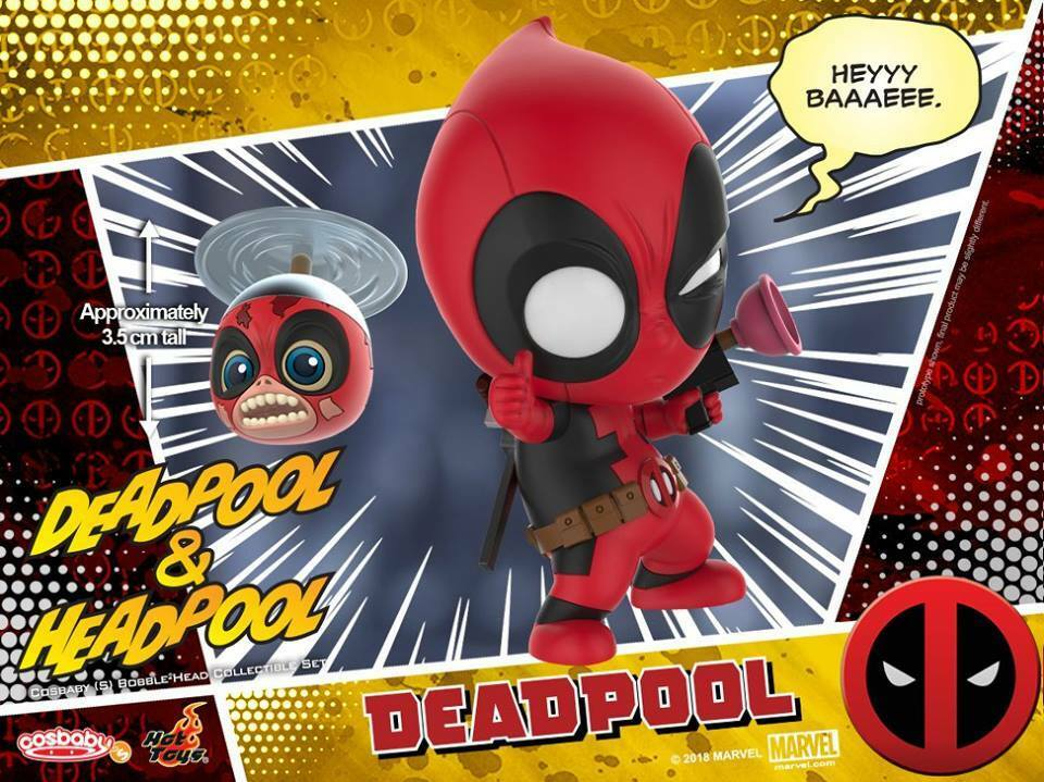 Hot Hot Hot Toys Deadpool and Headpool Cosbaby Marvel 20ffc5