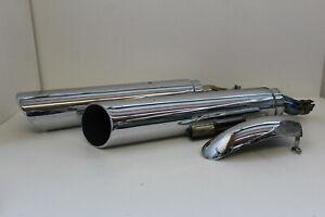 Triumph-ROCKET-3-Rocket-III-Auspuff-Original-Endschalldaempfer-Exhaust-Triumph