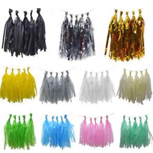10pcs-Tissue-Paper-Tassels-2M-Ropes-Birthday-Party-Wedding-Decor-DIY-Garland