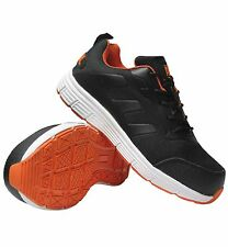 MENS NEW  ULTRA LIGHTWEIGHT STEEL TOE CAP SAFETY TRAINER SHOES WORK SIZE 12