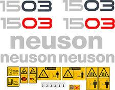 Neuson 1503 Escavatore DECALCOMANIE ADESIVO Set
