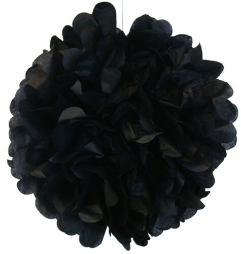 "MIXED SIZE 4/"" 8/"" 12/"" Tissue Paper Pom-poms Flowers Wedding Party DIY Decoration"