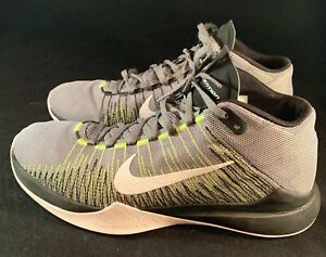 half off 6465d 1c0ce Image is loading Mens-9-Nike-Zoom-Ascention-Gray-White-amp-