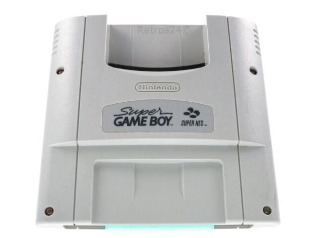 Super Game Boy Adapter Gameboy Spiele auf Super Nintendo SNES