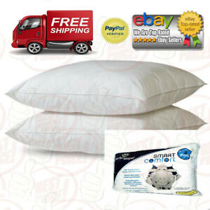2-Serta-Perfect-Sleeper-Queen-Size-Bed-Pillows-Soft-Cotton-Cover-BEST-DEALS