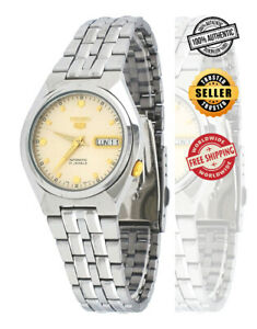 Seiko-5-Automatic-SNKL69-SNKL69K1-Men-See-Through-Day-Date-Stainless-Steel-Watch