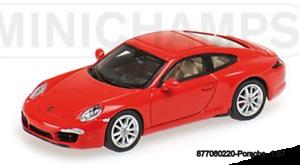"""Minichamps 8706766220 -Porsche 911 (991) bilrera S [""""Fror5533; C 2011 """" [""""65533; C röd L. E. 500 Pzs """"."""