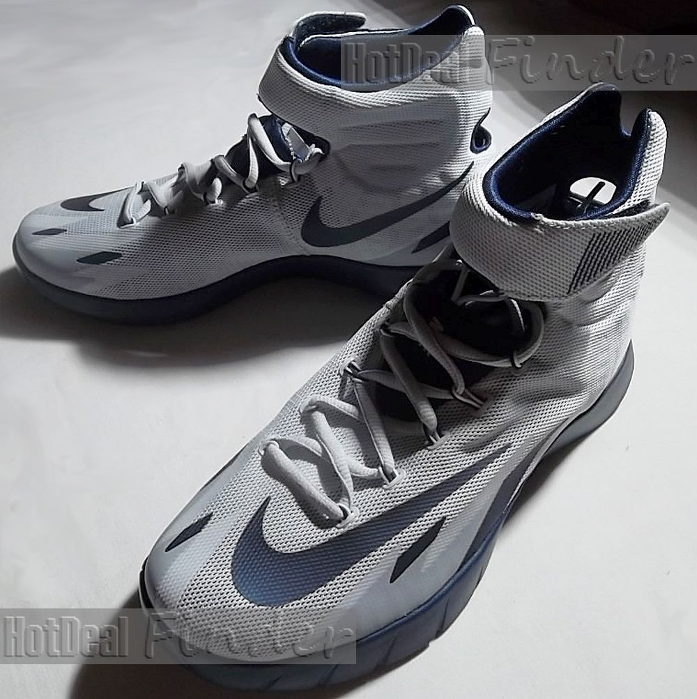 NEW NIKE ZOOM = SIZE 17.5 = HYPERREV MENS BASKETBALL SHOES 643301-005