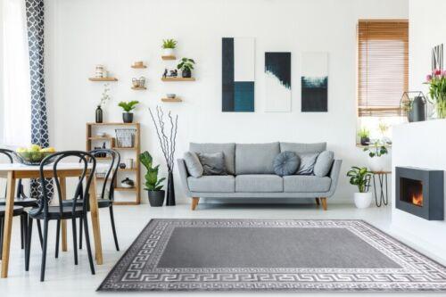 """gris meilleure qualité cadre structurels Design Moderne Bon Marché de tapis /""""mefe/"""" grec clé"""