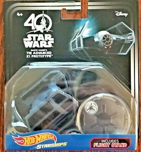 Disney-Hot-Wheels-Star-Wars-Starships-40th-Anniv-Darth-Vader-TIE-Advanced-X1