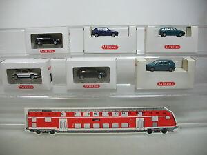 Ai730-0-5-6x-Wiking-h0-automovil-Volkswagen-VW-Golf-GL-GTI-051-052-S-G-embalaje-original