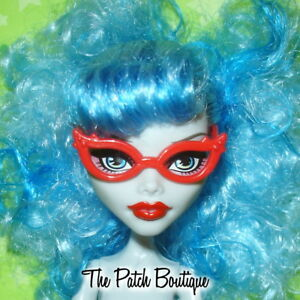 RED-CAT-EYE-GLASSES-EYEGLASSES-REPLACEMENTS-FOR-MONSTER-HIGH-GHOULIA-YELPS-DOLL