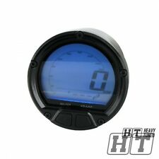 Koso Tacho Tachometer Dl-02s LCD digital für Motorrad Quad Roller Trike ATV
