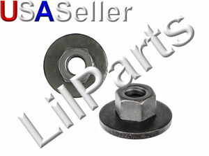 1/4-20 Free Spinning Washer Nut Ford Chrysler 45334 6023204 6025004 15347 Swivel