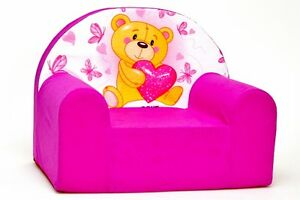Kids Children's Armchair, 50 designs Comfy Soft Foam Chair ...