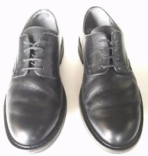 MEPHISTO Goodyear Welt Pebbled Leather Black Oxford Shoe Mens 9M Black Portugal