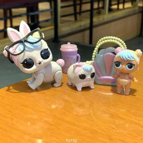 With 2 pets LOL Surprise LiL Sisters L.O.L Bon bon cosplay club SERIES 2 doll