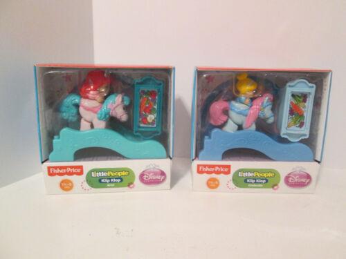 Little People Disney Princess Klip Klop Stable Palace Castle Replacement Horses