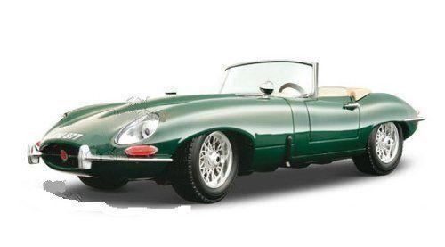 BBURAGO 1:18 1961 Jaguar E Type cabriolet Sport Modello Diecast Auto Da Corsa Giocattolo