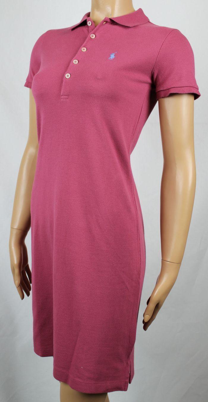 Ralph Lauren Pink Polo Dress Dress Dress bluee Pony NWT e03cd7