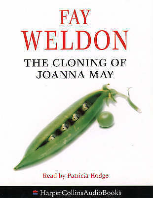 Fay Weldon - The Cloning Of Joanna May read Patricia Hodge Tape Cassette Set