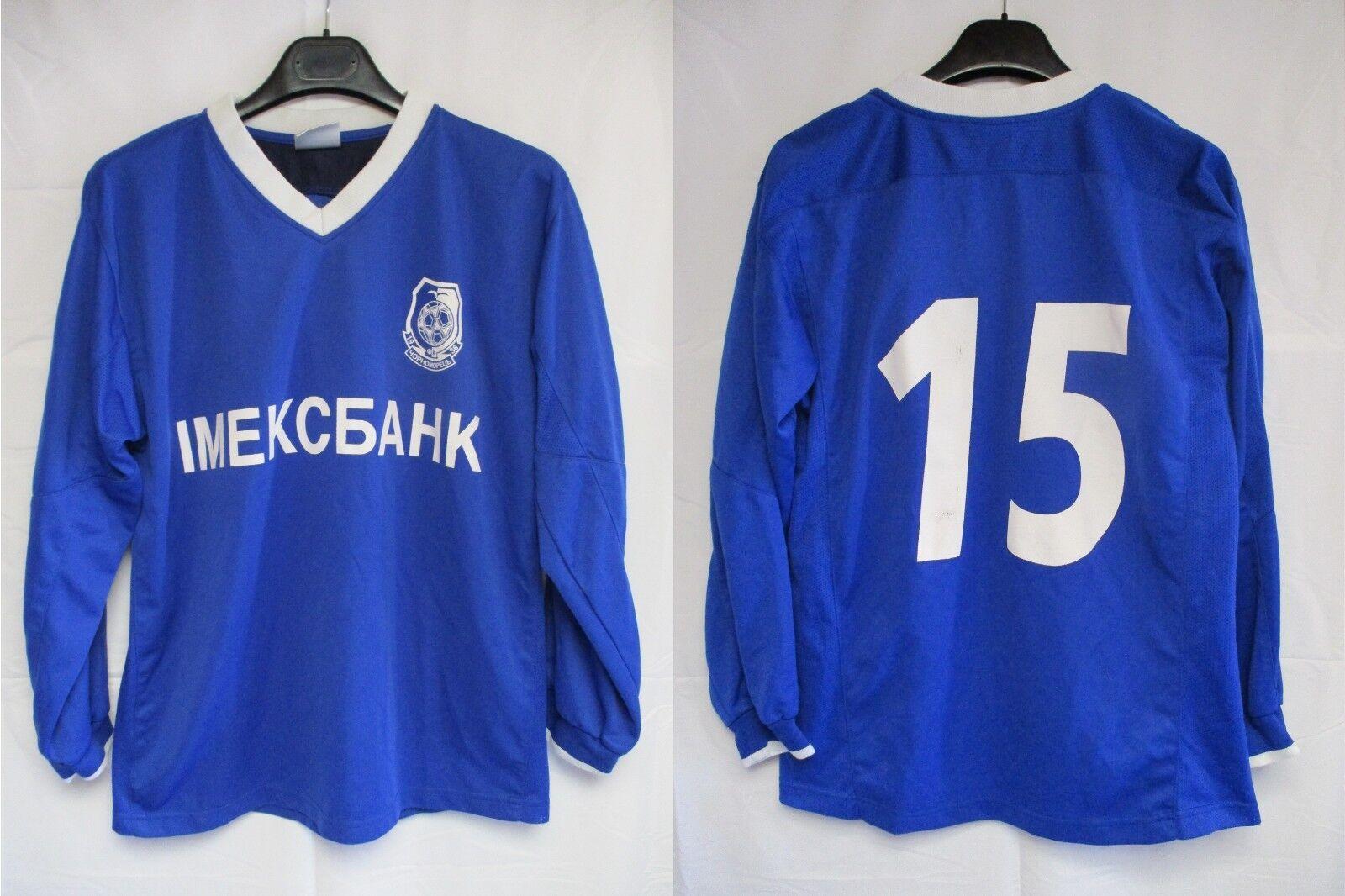 Maillot TCHERNOMOREST ODESSA porté n°15 shirt trikot maglia camiseta vintage LS