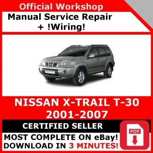 # fabbrica officina servizio riparazione manuale per NISSAN X-TRAIL 2001-2007 Cablaggio