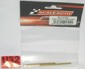 Scaleauto Sc-1212b Achse 60mm Stahl Hard Gold Oberfläche Achse 2.38mm Year-End Bargain Sale Kinderrennbahnen