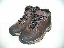 TIMBERLAND YOUTH BOYS GIRL BOOTS SHOES WATERPROOF HIKING size 13 DARK BROWN CUTE
