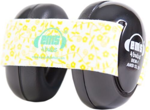 Em/'s 4 Bubs Adjustable Size Infant Baby Hearing Protection Earmuffs Headphones
