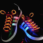 Orange LED Lighted Shoe Laces + Extra Batteries- Ships FAST from USA!