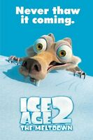 Ice Age 2 Meltdown Scrat Never Thaw Movie Poster