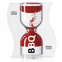 Paradox 3 Minute Bbq & Steak Timer / Hourglass - Sand Flows From Bottom To Top